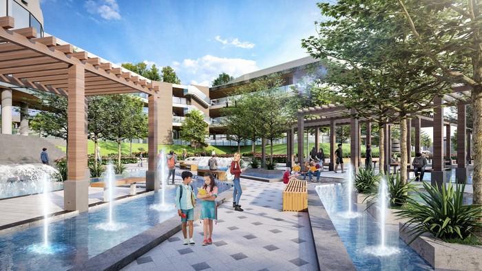 Sunshine Heritage tạo ra không gian phát triển toàn diện cả thể lực và trí tuệ cho những cư dân nhí