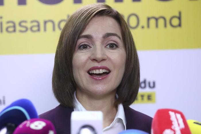 Maia Sandu: Nữ tổng thống đầu tiên của Moldova - Ảnh 1.