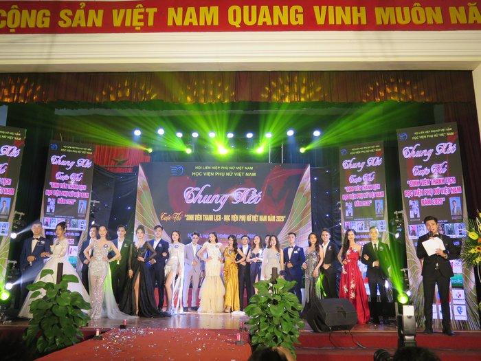 20 thí sinh tài năng, duyên dáng tỏa sáng trong Cuộc thi sinh viên thanh lịch Học viện Phụ nữ Việt Nam - Ảnh 1.