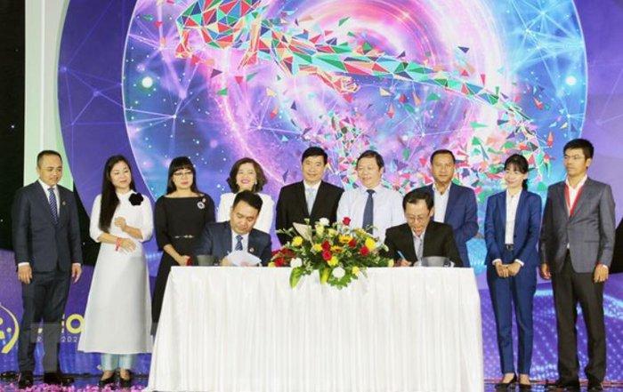 Doanh nhân Phạm Phú Trường nhậm chức Chủ tịch Hội Doanh nhân trẻ TPHCM - Ảnh 1.