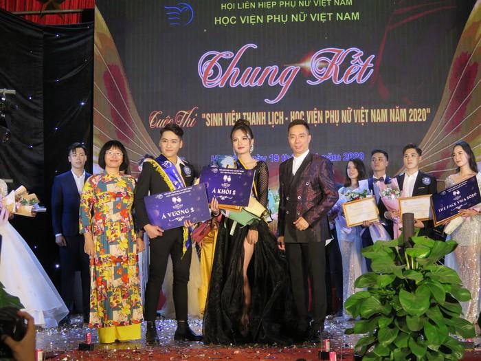 20 thí sinh tài năng, duyên dáng tỏa sáng trong Cuộc thi sinh viên thanh lịch Học viện Phụ nữ Việt Nam - Ảnh 13.