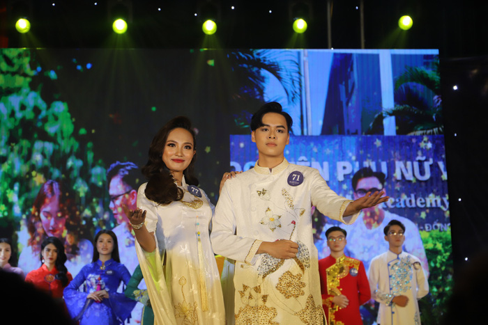 20 thí sinh tài năng, duyên dáng tỏa sáng trong Cuộc thi sinh viên thanh lịch Học viện Phụ nữ Việt Nam - Ảnh 5.