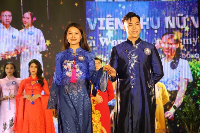 20 thí sinh tài năng, duyên dáng tỏa sáng trong Cuộc thi sinh viên thanh lịch Học viện Phụ nữ Việt Nam - Ảnh 3.