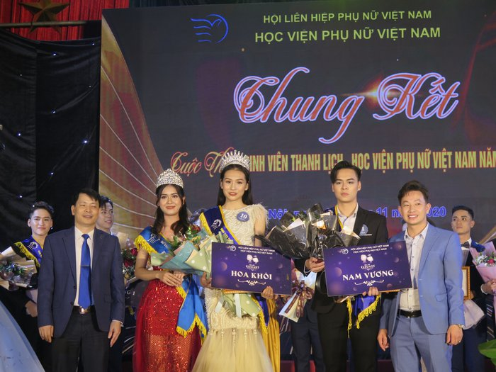20 thí sinh tài năng, duyên dáng tỏa sáng trong Cuộc thi sinh viên thanh lịch Học viện Phụ nữ Việt Nam - Ảnh 11.