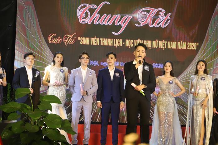 20 thí sinh tài năng, duyên dáng tỏa sáng trong Cuộc thi sinh viên thanh lịch Học viện Phụ nữ Việt Nam - Ảnh 10.
