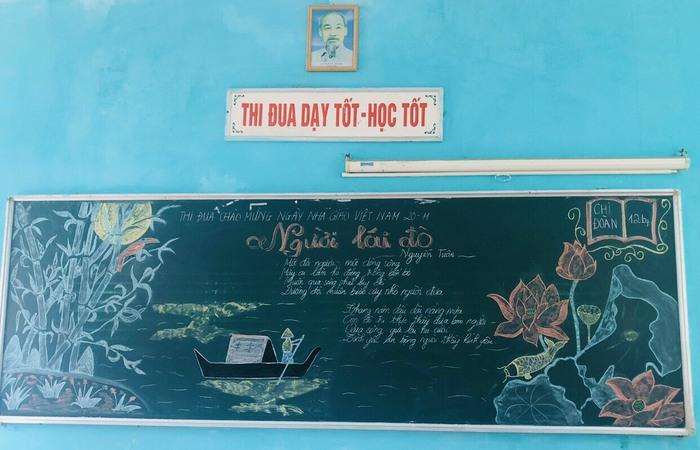 """""""Lớp sạch, lớp đẹp, lớp thân thiện"""" – món quà độc đáo tri ân thầy cô của học sinh trường Nguyễn Bình - Ảnh 2."""