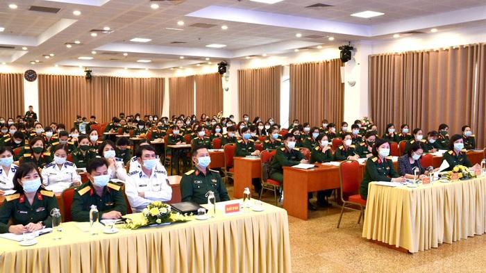 Tổng kết công tác vì sự tiến bộ của phụ nữ và bình đẳng giới trong quân đội - Ảnh 5.