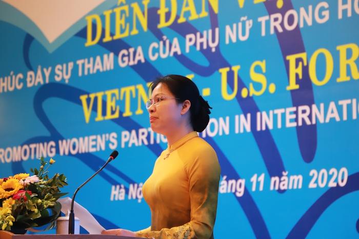 Phụ nữ góp phần đưa quan hệ Việt - Mỹ gần nhau hơn - Ảnh 1.