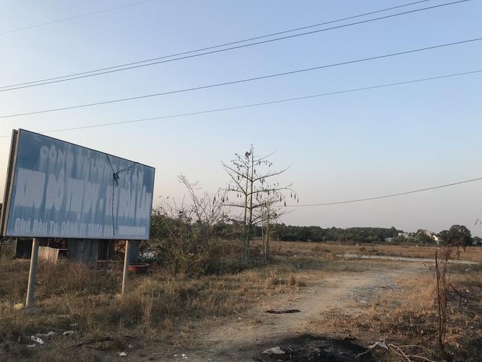 Dự án Hòa Lân đang bị bỏ hoang