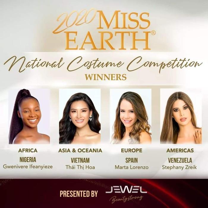 Áo dài Việt Nam thắng giải Trang phục dân tộc đẹp nhất tại cuộc thi Hoa hậu Trái đất 2020 - Ảnh 3.