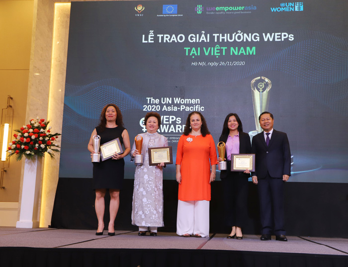 Trao quyền cho phụ nữ: Vinh danh 9 doanh nghiệp được nhận giải thưởng WEPs của UN Women - Ảnh 2.
