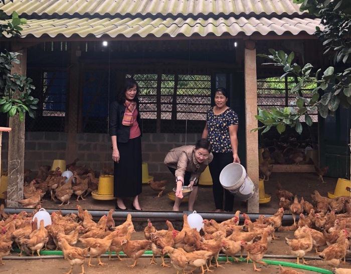 Chuỗi hoạt động tuyên truyền, hỗ trợ phụ nữ, trẻ em của Trung ương Hội tại Hà Giang - Ảnh 1.