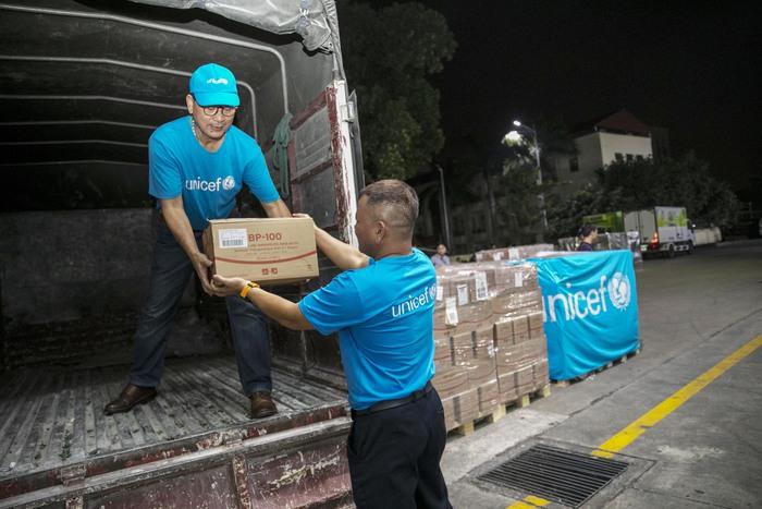 UNICEF viện trợ 10 tấn sản phẩm dinh dưỡng điều trị cho trẻ em suy dinh dưỡng ở Việt Nam - Ảnh 1.