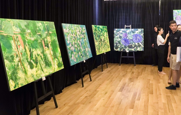 Thần đồng hội họa Xèo Chu lan tỏa vẻ đẹp tuyệt mỹ của nghệ thuật - Ảnh 2.