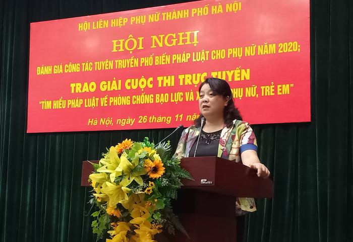 Hà Nội: Duy trì Hội đồng tư vấn pháp luật cho phụ nữ và trẻ em - Ảnh 1.