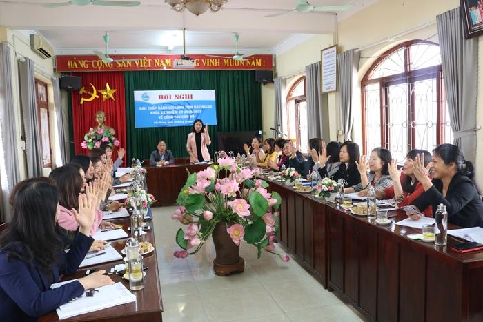Hội LHPN tỉnh Bắc Giang có Chủ tịch mới - Ảnh 1.