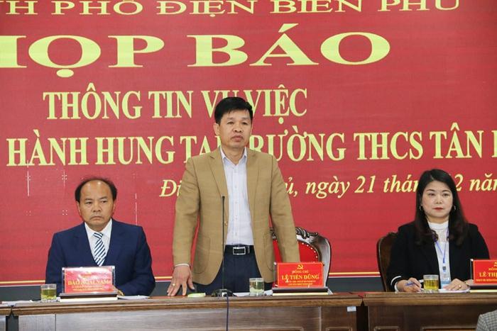 Phụ huynh xông vào trường đánh học sinh lớp 6 ở Điện Biên: Đã khởi tố vụ án - Ảnh 1.