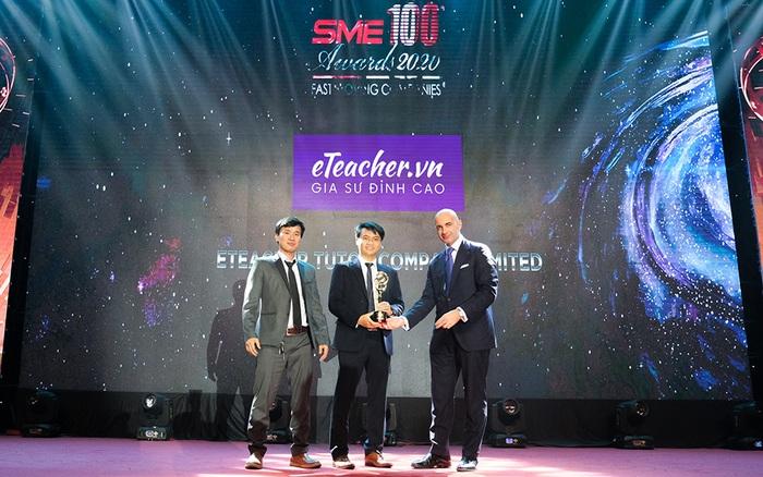 Eteacher được vinh danh top 100 doanh nghiệp vừa và nhỏ xuất sắc châu á 2020