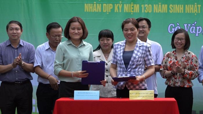 Thực hiện hiệu quả chương trình thi đua bảo vệ môi trường là món quà thiết thực mừng sinh nhật Bác Hồ kính yêu - (Bà Nguyễn Trần Phượng Trân, Chủ tịch Hội LHPN tp Hồ Chí Minh)