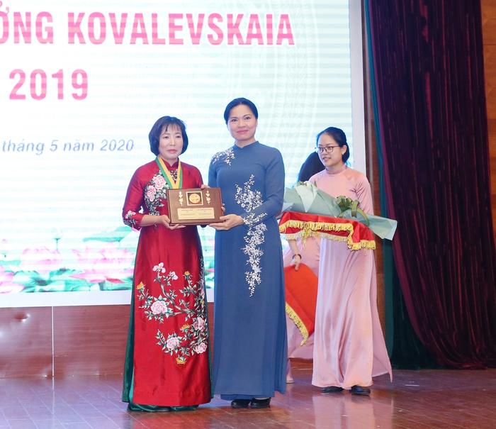 Vinh danh tập thể, cá nhân nữ khoa học nhận giải thưởng Kovalevskaia năm 2019 - Ảnh 3.