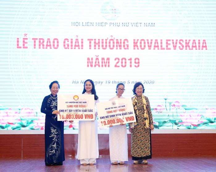 Vinh danh tập thể, cá nhân nữ khoa học nhận giải thưởng Kovalevskaia năm 2019 - Ảnh 6.