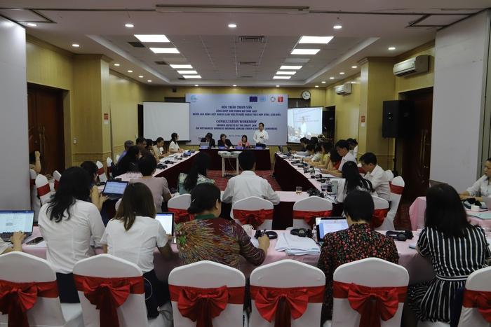 Các đại biểu đã đóng góp ý kiến sôi nổi cho Dự thảo Luật Người  lao động Việt Nam đi làm việc ở nước ngoài theo hợp đồng (sửa đổi).