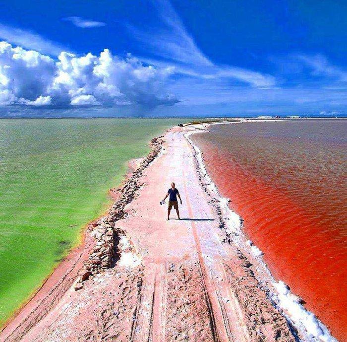 Hồ nước màu hồng đẹp tuyệt nhưng du khách tuyệt đối không được tắm - Ảnh 5.