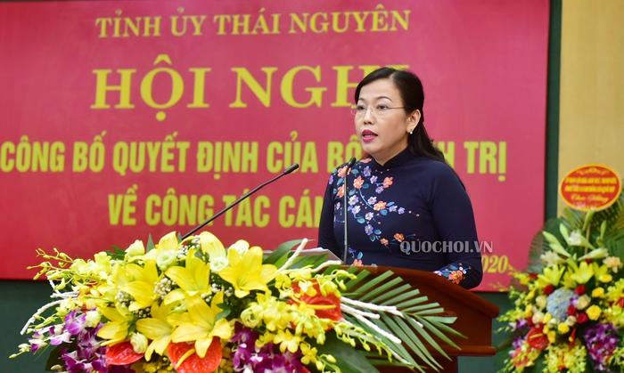 Bà Nguyễn Thanh Hải được bổ nhiệm giữ chức Bí thư Tỉnh ủy Thái Nguyên  - Ảnh 2.