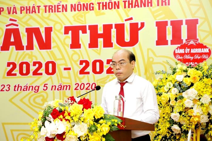 Đảng bộ Agribank Thanh Trì thí điểm bầu trực tiếp Bí thư tại Đại hội - Ảnh 1.