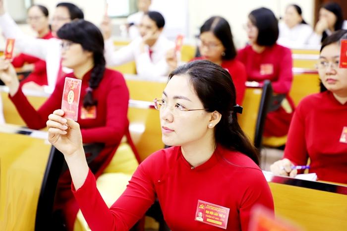 Đảng bộ Agribank Thanh Trì thí điểm bầu trực tiếp Bí thư tại Đại hội - Ảnh 3.