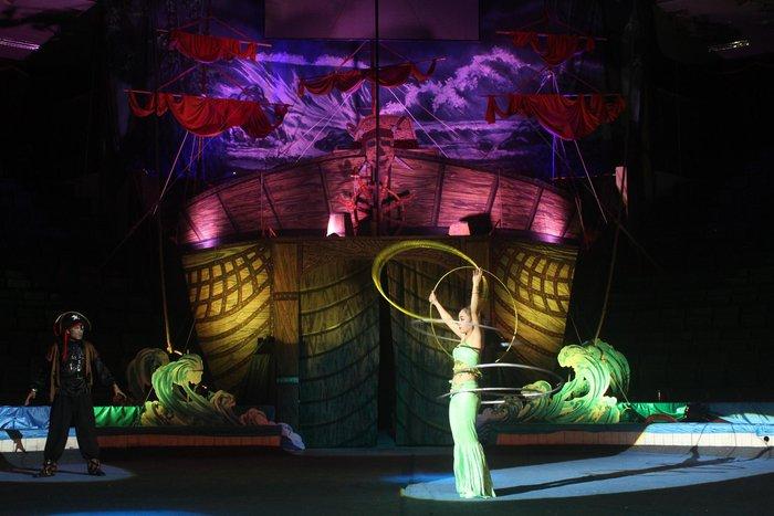 Xiếc Việt trở lại sau mùa dịch bằng câu chuyện về cướp biển - Ảnh 1.