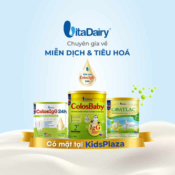 Sản phẩm VitaDairy có mặt tại hệ thống cửa hàng Kids Plaza - Ảnh 1.