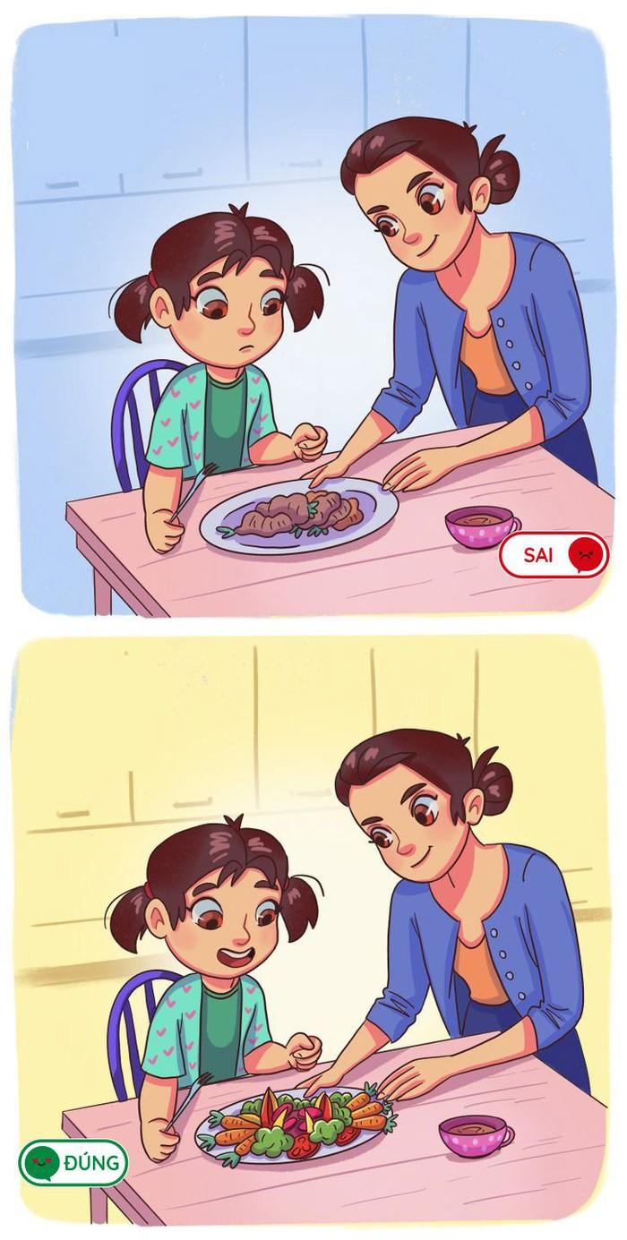 15 sai lầm trong ăn uống cha mẹ thường ép khiến trẻ lười ăn trong tương lai - Ảnh 10.