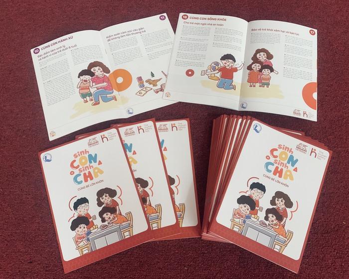 Tài liệu dành cho cha mẹ và những người nuôi dạy, chăm sóc trẻ từ 0 đến 6 tuổi