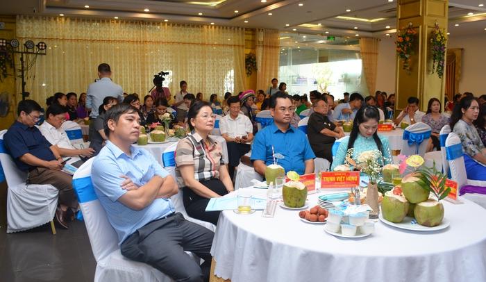 """Thái Nguyên tổ chức giao lưu, chia sẻ kinh nghiệm mô hình """"Phụ nữ thực hiện an toàn thực phẩm"""" - Ảnh 2."""
