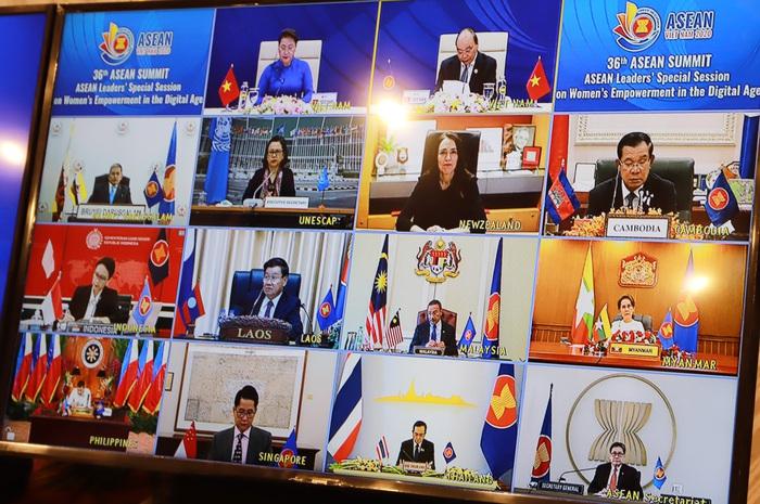 Thông điệp nữ quyền của Chủ tịch Quốc hội Nguyễn Thị Kim Ngân tại Hội nghị Cấp cao ASEAN 36 - Ảnh 3.