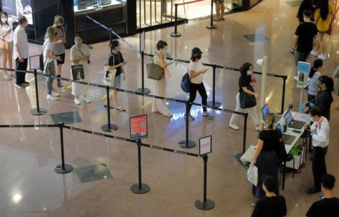 Singapore đẩy mạnh biện pháp an toàn cho thực khách trong mùa Covid-19 - Ảnh 1.