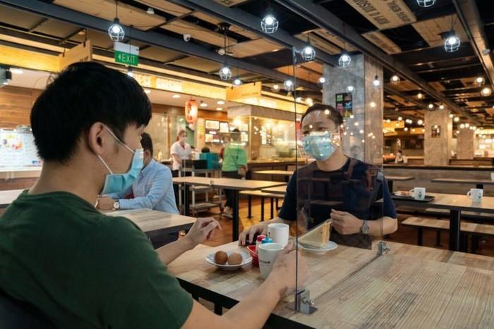 Singapore đẩy mạnh biện pháp an toàn cho thực khách trong mùa Covid-19 - Ảnh 2.