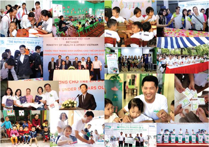Amway Việt Nam phát hành Báo cáo trách nhiệm xã hội lần thứ 5 - Ảnh 2.