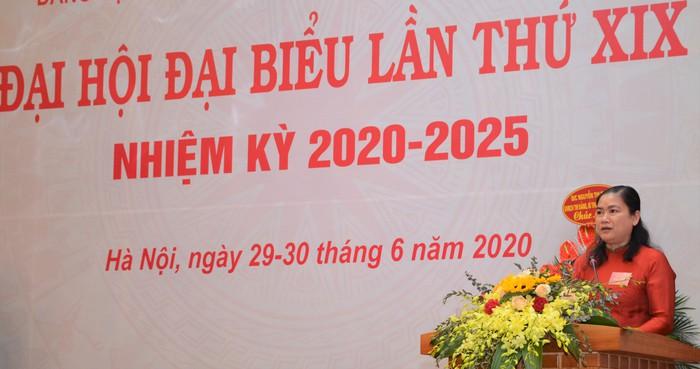 Đại hội đại biểu Đảng bộ cơ quan TƯ Hội LHPNVN lần thứ XIX thành công tốt đẹp - Ảnh 3.