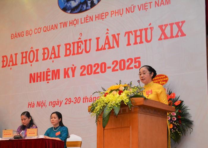 Khai mạc Đại hội đại biểu Đảng bộ cơ quan TƯ Hội LHPN Việt Nam lần thứ XIX - Ảnh 3.