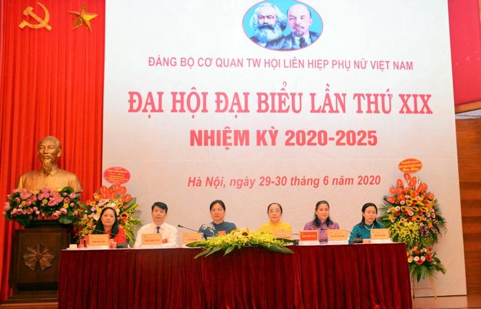 Khai mạc Đại hội đại biểu Đảng bộ cơ quan TƯ Hội LHPN Việt Nam lần thứ XIX - Ảnh 2.