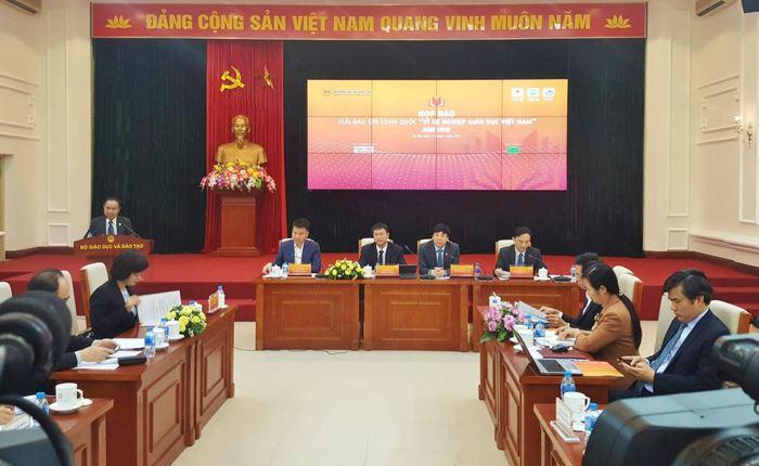 """Phát động giải báo chí toàn quốc """"Vì sự nghiệp giáo dục Việt Nam"""" năm 2020 - Ảnh 1."""