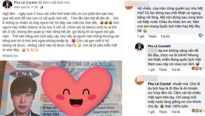 Ca sĩ Pha Lê không muốn cho con мᴀng quốc tịch Việt Nam vì sợ xấu нổ?