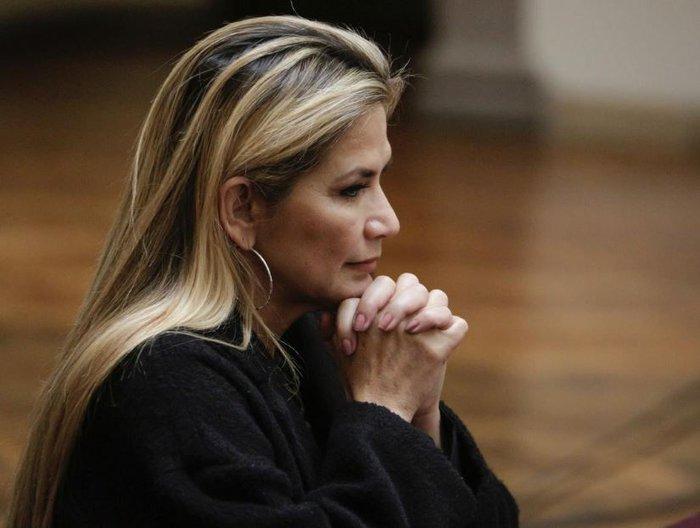 Nữ tổng thống lâm thời Bolivia nhiễm Covid-19 - Ảnh 1.