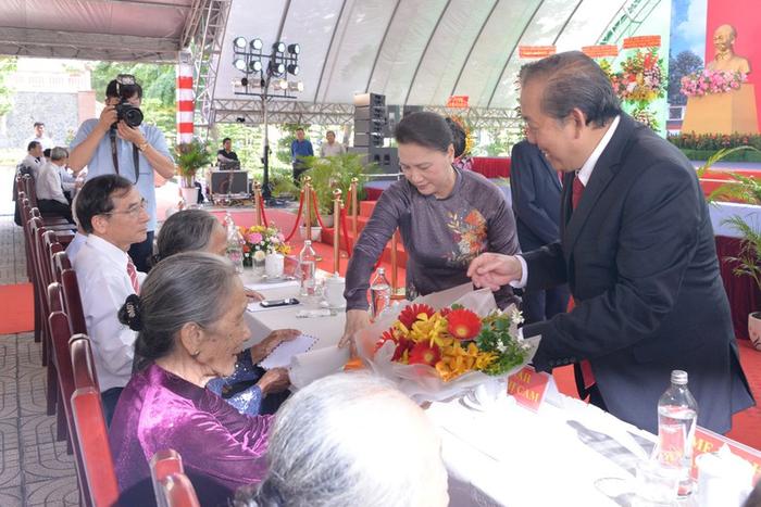Lễ kỷ niệm 110 năm ngày sinh ông Nguyễn Hữu Thọ - Ảnh 1.
