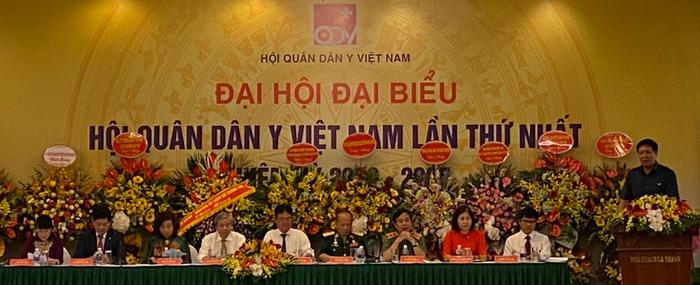 Đại hội đại biểu Hội Quân dân y Việt Nam lần thứ nhất, nhiệm kỳ 2020 - 2025
