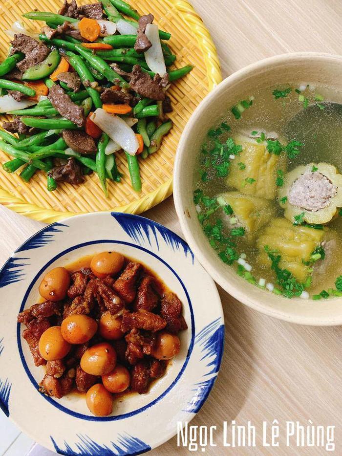 9X Gia Lai nấu đủ 3 món ngon/bữa, dân mạng đòi đến ở cùng - Ảnh 4.