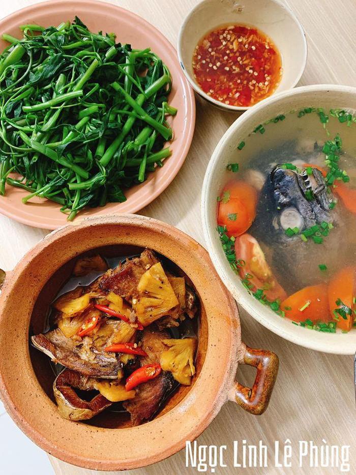 9X Gia Lai nấu đủ 3 món ngon/bữa, dân mạng đòi đến ở cùng - Ảnh 10.