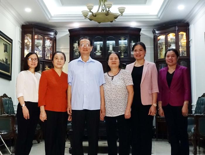 Lãnh đạo Hội LHPN Việt Nam thăm nguyên lãnh đạo Nhà nước, Chính phủ - Ảnh 2.